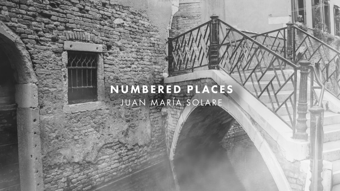 Numbered Places, music by Juan Maria Solare. Artwork by Patrick McHugh